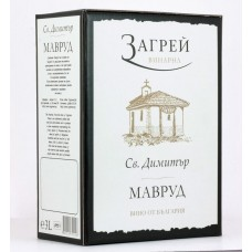 St. Dimitar Mavrud & Dimyat Bag in Box 3L